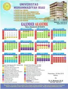 Kalender Akademik UMRI 2015-2016