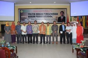 civitas akademika UMRI bersama Rektor UMJ